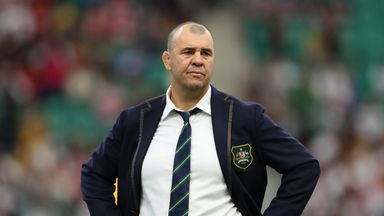 Cheika quiet on Australia future