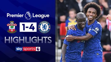 Chelsea smash four past Saints