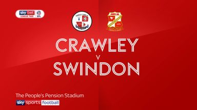 Crawley 0-4 Swindon