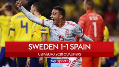 Spain seal Euro 2020 spot in 90+2
