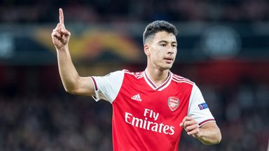 Emery: Martinelli's attitude faultless