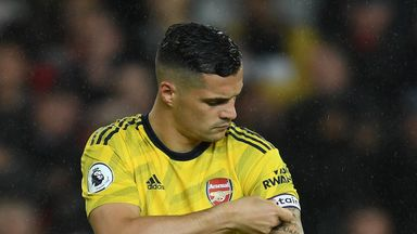 Emery: I trust Xhaka to lead my team