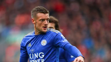 Vardy 'fine' after Twitter spat