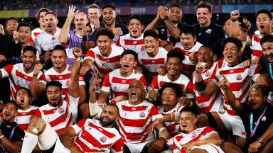 Japan knock Scotland out of World Cup