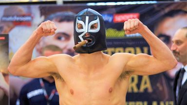 Masked fighter Laws sets sights on Haney