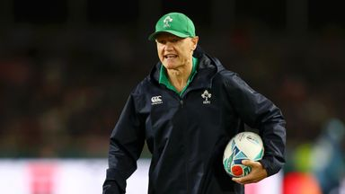Schmidt: Experience gives Ireland belief