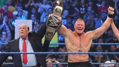 Lesnar makes quick work of Kingston