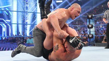 Cain Velasquez brings fight to Lesnar