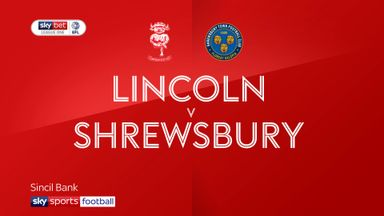 Lincoln 0-0 Shrewsbury