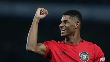 Ole: Rashford flourishing with Martial