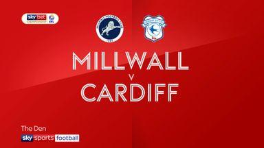 Millwall 2-2 Cardiff