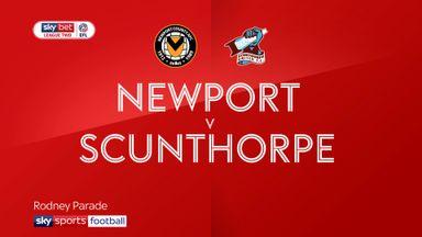 Newport 2-1 Scunthorpe