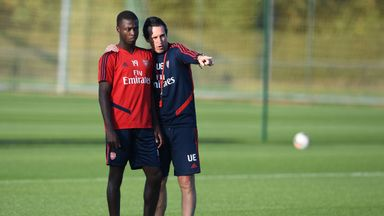 Emery urges Pepe to embrace pressure