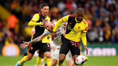 Dublin: Watford looked nervous