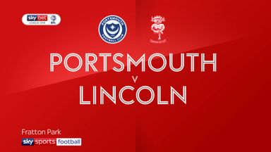 Portsmouth 1-0 Lincoln