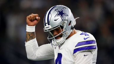 Prescott breaks rushing TD record