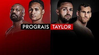 Prograis v Taylor - October 26!