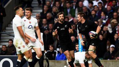 2014: England 21-24 New Zealand