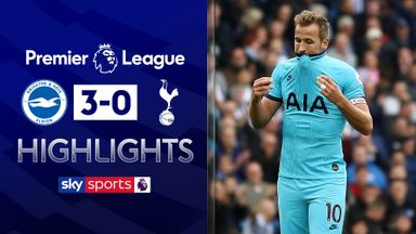 Brighton stun Spurs in first home win