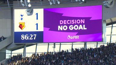 VAR confusion over Alli goal