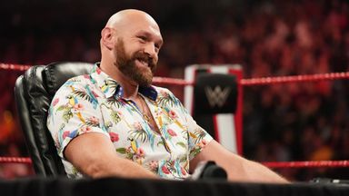 Tyson Fury making huge WWE impact
