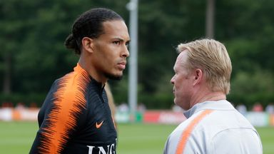 'Van Dijk great example for Netherlands'