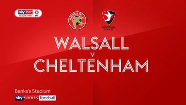 Walsall 1-2 Cheltenham