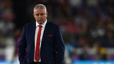 Gatland: South Africa deserved to win