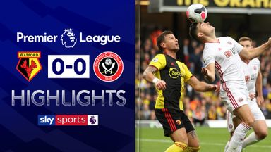 Winless Watford held by Sheff Utd