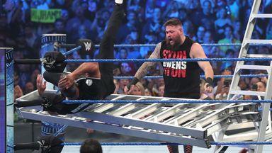 Kevin Owens retires Shane McMahon
