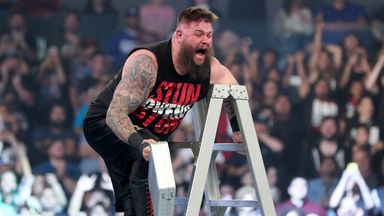Owens relieved after Ladder Match win