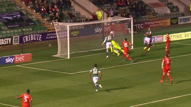 How was this Plymouth goal not disallowed?