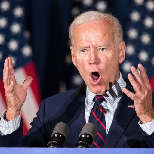 Joe Biden: Donald Trump has betrayed nation and should be impeached
