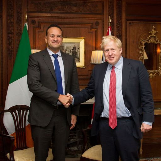 Irish PM 'now absolutely convinced' Boris Johnson wants Brexit deal after talks