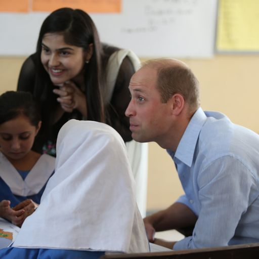 'I was a big fan of my mother too': Prince William's touching reply to school child