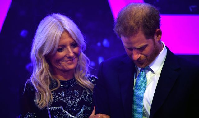 Harry breaks down at WellChild Awards as he recalls moment during Meghan's pregnancy
