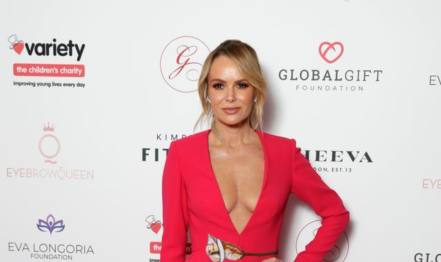 Amanda Holden breaks leg in two places on family holiday