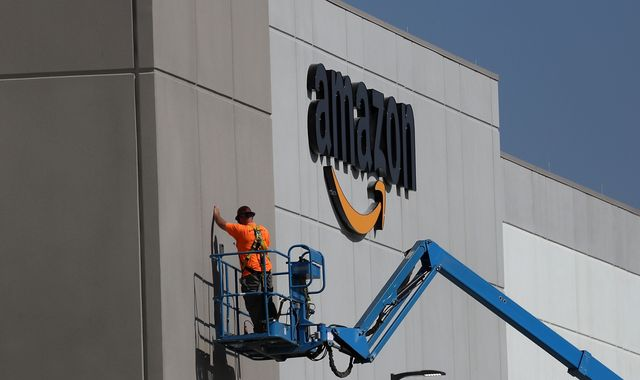 Amazon shares hit by weaker Christmas trading forecast