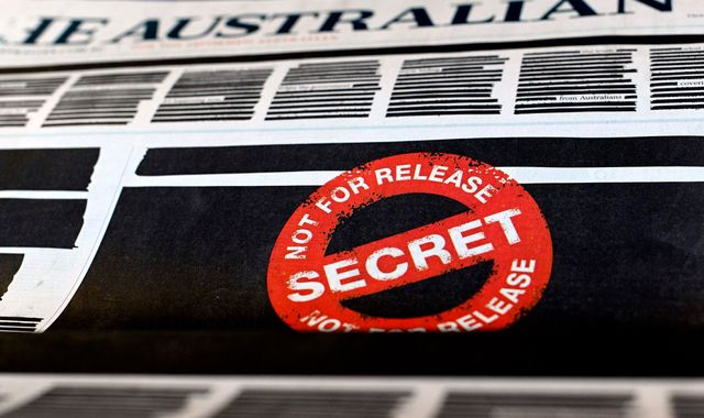 Australia: Why newspapers across the country have redacted their front pages