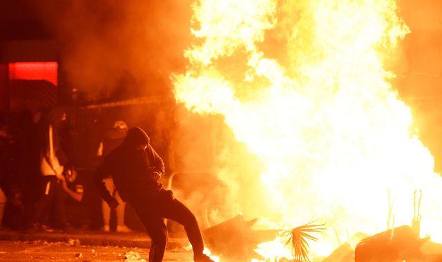 Barcelona protests: Civil guard deployed in as huge protest turns violent