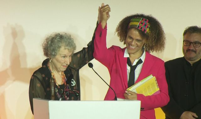 Booker Prize: Margaret Atwood and Bernadine Evaristo named joint winners