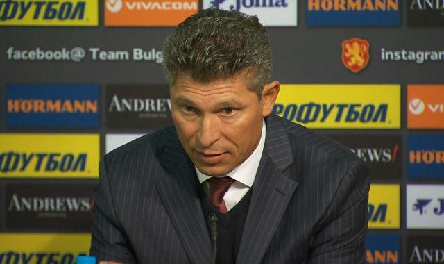 Bulgaria manager Krasimir Balakov quits after racist abuse at England game