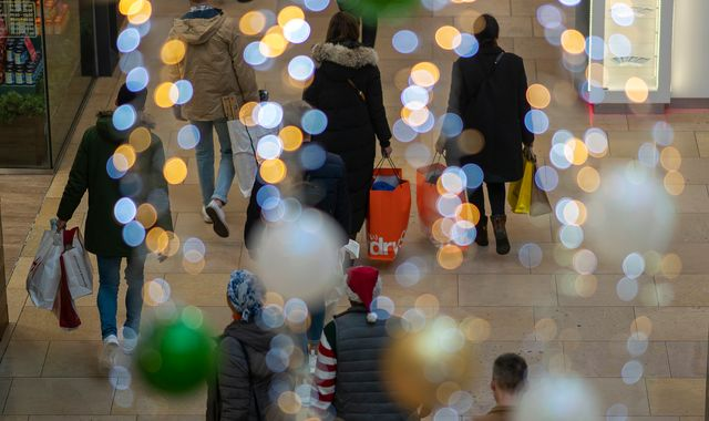Christmas shopping disappoints as sales fall for record fifth month