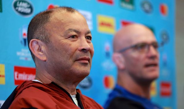 England 'spied on' during World Cup training session, says coach Eddie Jones