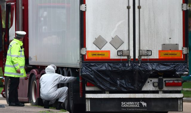 Essex lorry deaths: 26 members of suspected people smuggling ring arrested in France and Belgium