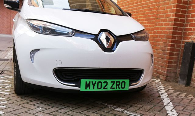 Electric cars could get green number plates to make them easier to spot