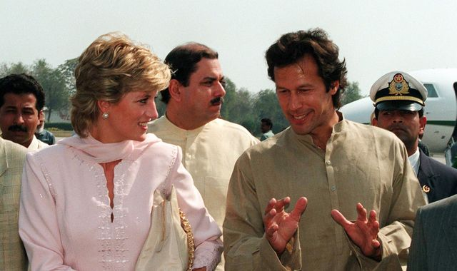 Imran Khan 'shocked' by how Diana's death affected Pakistan