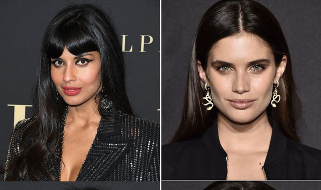 Jameela Jamil criticised by Victoria's Secret star Sara Sampaio over 'starved' models post