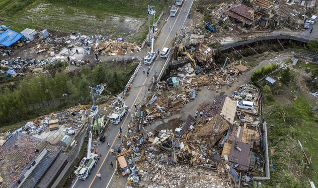 Japan braces for more storms after braving deadly typhoon