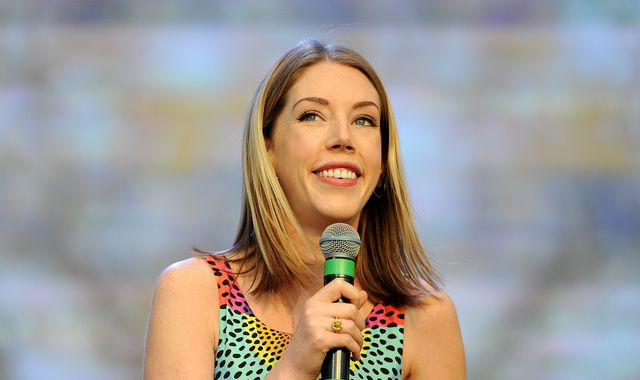 Masked man robbed comedian Katherine Ryan while she was at home